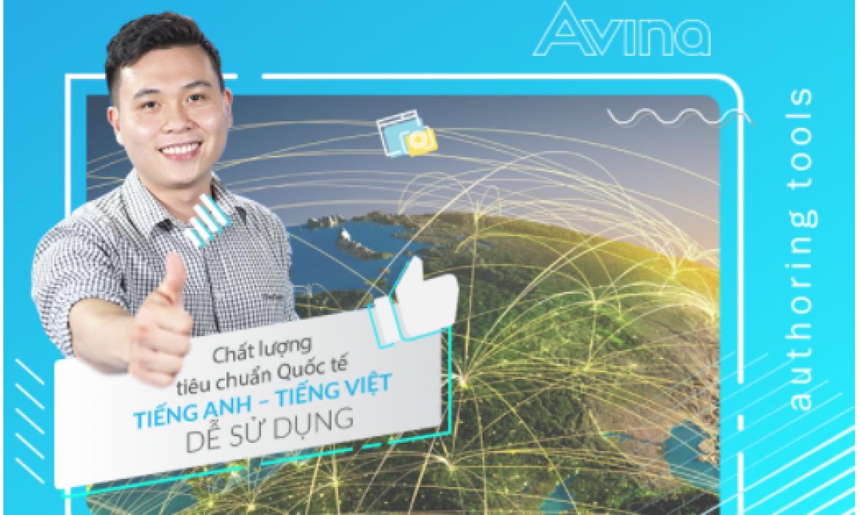 Avina – Phần mềm soạn bài giảng E-Learning Việt chất lượng quốc tế