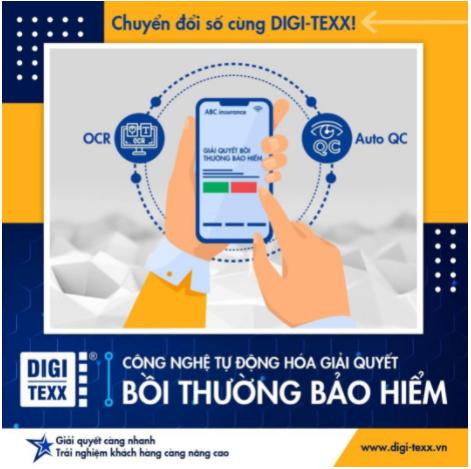 DIGI-TEXX chuyển đổi số trong lĩnh vực bảo hiểm