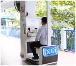 Hệ thống POD phục vụ công tác sàng lọc bệnh nhân ở các bệnh viện tại TP.HCM