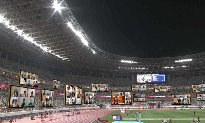 Công nghệ đưa khán giả ảo xuất hiện tại sân vận động Olympic Tokyo