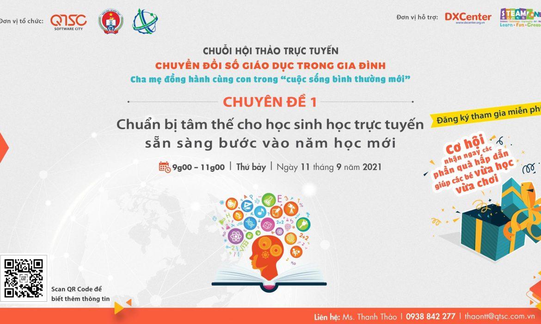 11.09.2021 | Chuẩn bị tâm thế cho học sinh học trực tuyến sẵn sàng bước vào năm học mới