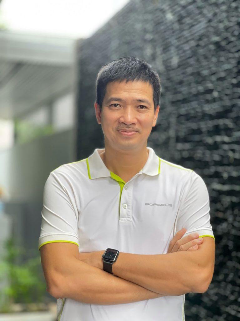 Ông Trung Phan - Chủ tịch Công ty Cổ phần Decom Holdings về đầu tư, thành viên khởi xướng quy tụ nhóm các chuyên gia hiến kế cho MAS